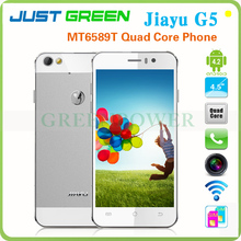 Best Mobile Phone In China Google Android 4.2.1 MTK6589T Quad Core 4.5 inch IPS Jiayu G5 Built in 3G GPS Bluetooth WiFi OTG