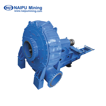 Naipu Centrifugal Slurry Pump with Electric Motor Drive