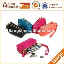 2013 New Design PU Leather Phone Wallet Case