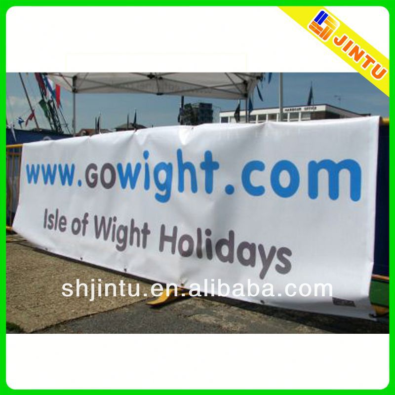 outdoor street pole hanging banner from China advertising supplier