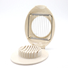 LFGB FDA approval plastic boiled egg mushroom slicer cutter cuts kitchen tools sectioner with stainless steel wire