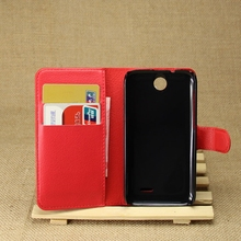 Customized Cheapest wallet flip case for htc desire 310