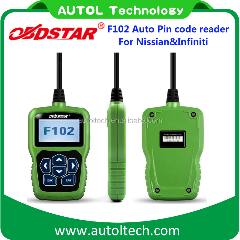 Original obdstar immobilizer pin code reader f102 reading BCM code for all Nissian for all Infiniti f102 odometer change tools