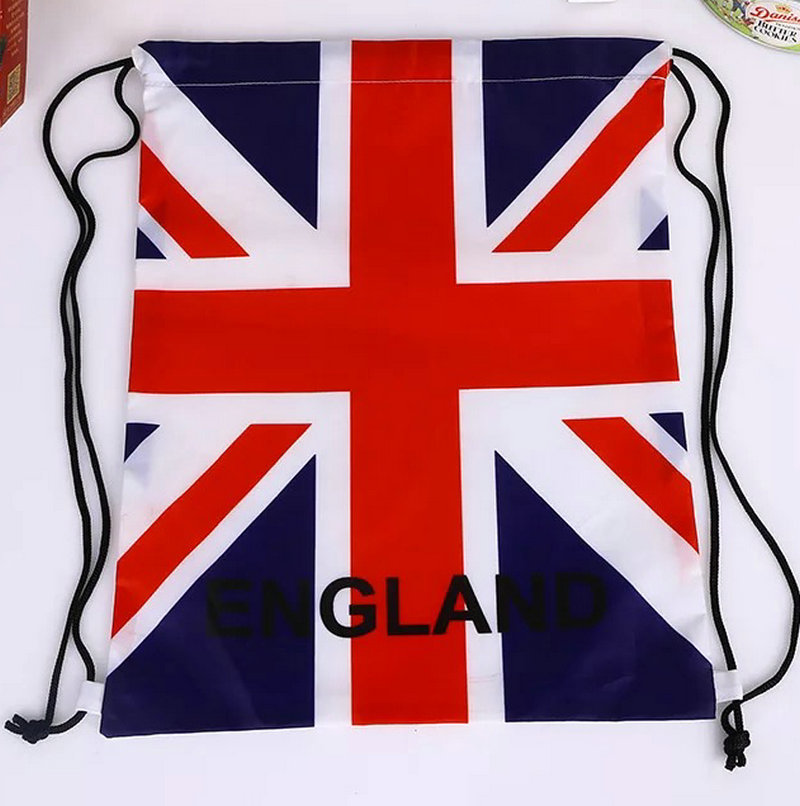 Waterproof reusable Custom OEM Full printing sublimation drawstring bag