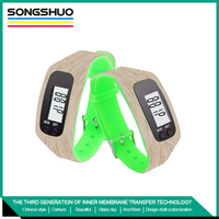 Wholesale silicone pedometer china manufacturer customized logo watches
