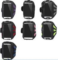 Sweat-absorbent Mesh Sport Armband Case for iPhone 6 4.7 inch /For Samsung