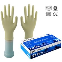made in Malaysia IGloves cheap latex gloves latex rubber gloves waterproof work gloves in lab