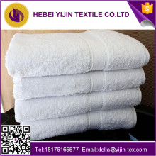 China manufacture 100% cotton custom white terry hotel bath towels