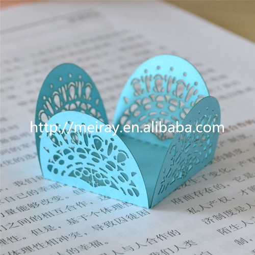 Small and exquisite sweet box! laser cut paper crafts mini candy box mini wrapper wholesale decoration wedding from Mery Crafts