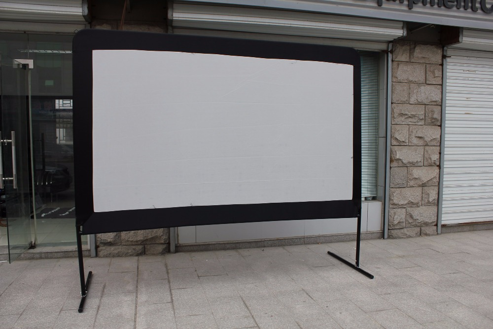 home event outdoor portable movie projection screen/projector screen