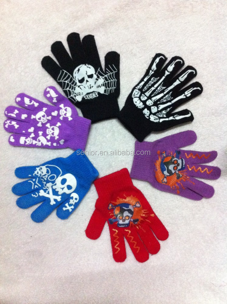 Custom Texting Gloves Knit Winter Warm texting Touch Screen Glove