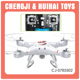 2.4G UFO toy plastic quadcopter drone with hd camera professional