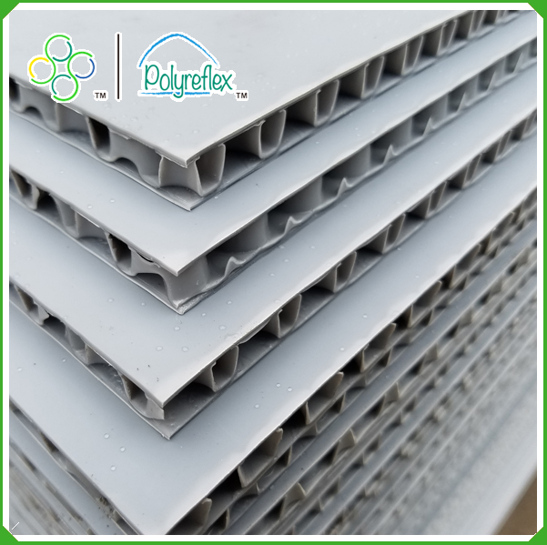 Polypropylene pp honeycomb core, PP flute board, plastic honeycomb core board