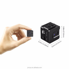 Portable Mini Spy Hidden Camera Small Nanny Cam with Night Vision and Sound Activated Modes