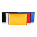 "colorful aluminum external usb 3.0 hard drive case 2.5"" sata hdd enclosure"