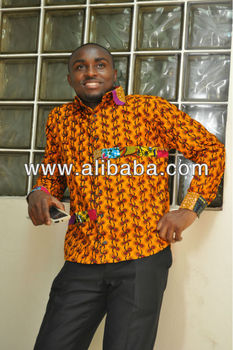 African Prints Long sleeves shirt