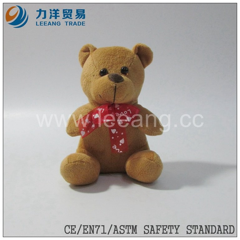 brown wholesale mini teddy bear plush cheap stuffed bear toys 2016, Customised toys,CE/ASTM safety stardard