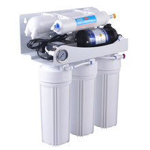 5 Stage RO Water Purification System With Pressure Gauge