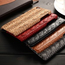 2016 Fashion Weave Texture PU Leather Flip Cover Phone Case For iphone 6, for iphone 6/6s