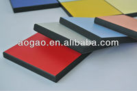 Aogao high pressure hpl phenolic compact laminate hpl panel