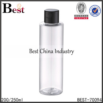 china professional manufacturer design silk printing 200ml 250ml plastic water bottle