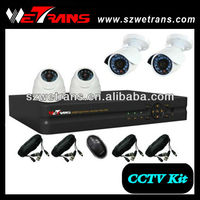 WETRANS 4CH H.264 Network Low Cost Home Security System, CCTV Cameras and Manual Do Dvr De H 264