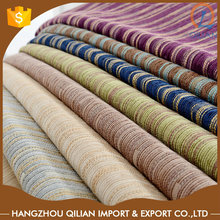 Solid colors Chenille fabric drapery lining fabric for modern