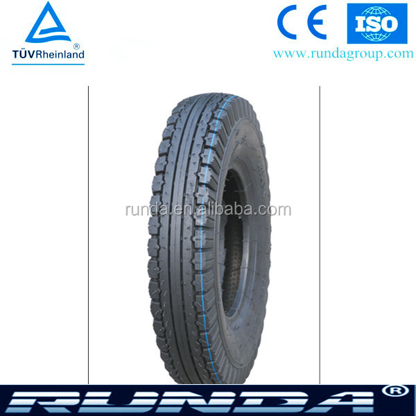 Hot sale high quality motorcycle tyre and tube 4.00-8