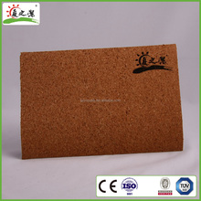 Eco-Friendly Aluminum Frame Decorative standard sizes Notice Cork Board for office