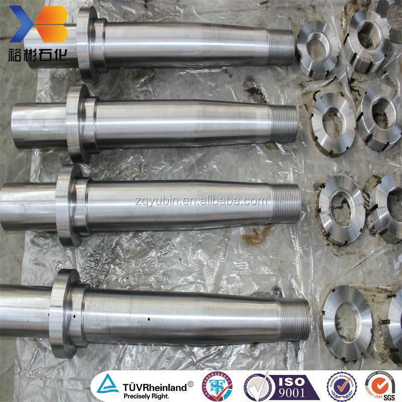 ISO 9001:2008 forging machine tool spindle with high quality
