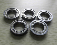 10x15 Bearing 10x15x4 Flanged Metal Bearing F6700ZZ Thin Section Ball Bearing
