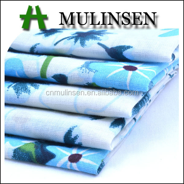 Mulinsen Textile High Quality Printed Woven 100%Cotton Voile Fabric