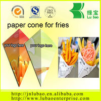 national day discount paper container or cone for fish and chips