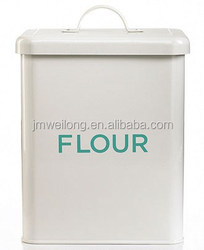 Flour/Rice Storage Tin/Suqare DOG/CAT Food Storage Box/Cabinet