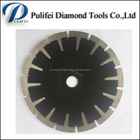 Power Stone Cutter Diamond Circular Saw Blade For Granite Cutting Blade Turbo Segment