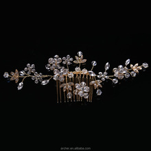 Exclusive Style Crystal Bridal hair clip Headband Wedding Hair Accessories HA-227