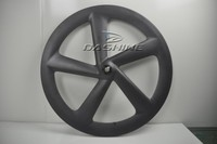 good quality carbon five 5 spoke wheel clincher road/track/fixed gear carbon spoke wheels
