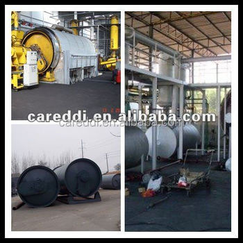 2015 best sale batch style waste tyre pyrolysis plant/tyre pyrolysis machine