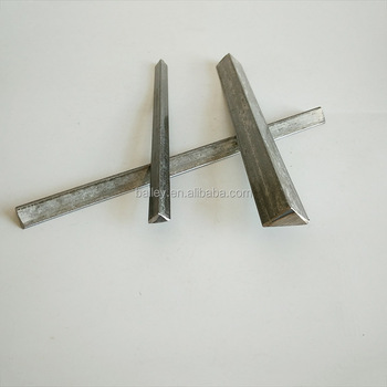 Triangle steel chamfer