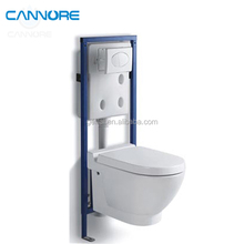 bathroom water closet ceramic wc toilet pan with concealed cistern