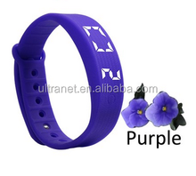 CE 3d pedometer silicone bracelet Noon Bluetooth health kids smart watch