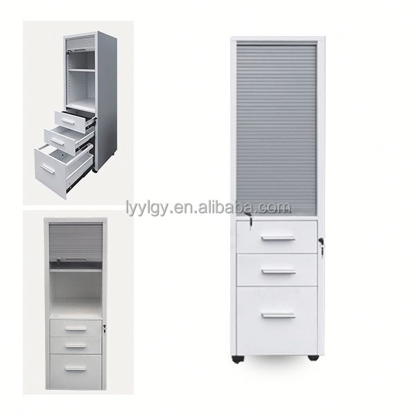 PVC cupboard doors /steel office cupboard