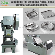 Aluminum foil containers and lids manufacturing punching machine