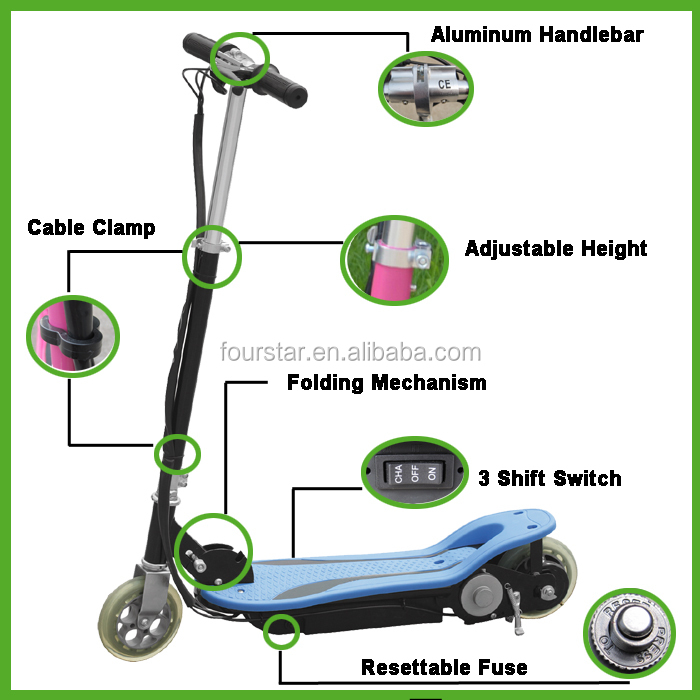 120W Powerful Newest Foldable Stand up Scooter SX-E1013-X