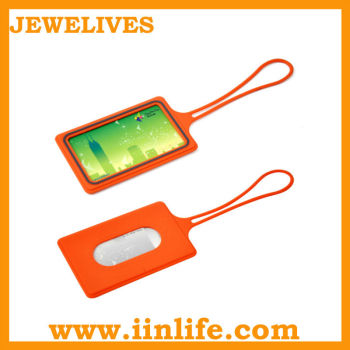 Silicon card holder/Rubber card holder/Luggage tag