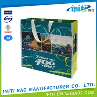 Fashionable high quality waterproof non woven vest shopping bags