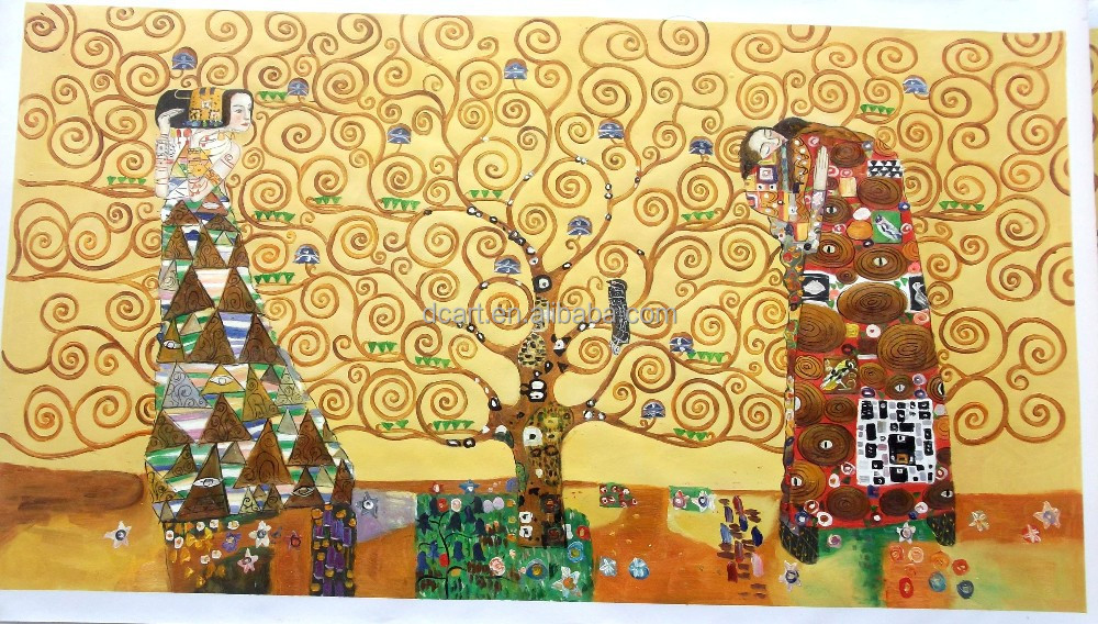 Tree of life by gustav klimt high quality art reproduction oil painting
