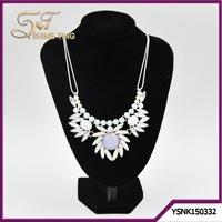alibaba website costume jewellery ladies elegant flora necklace