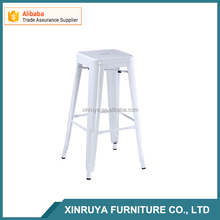 colorful bar metal chair full white bar stools