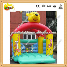 Lovely bear inflatable body bouncers with ce